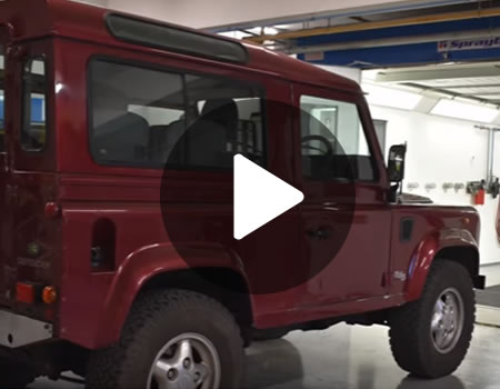 Raptor: Land Rover Makeover